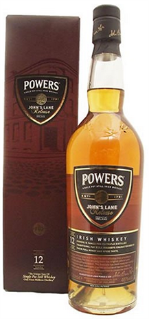 Powers Irish Whiskey Johns Lane